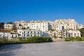 Panoramic view of rodi garganico puglia italy Royalty Free Stock Images