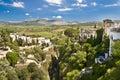 Panoramic view of Ronda, Andalusia, Spain Stock Photo