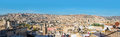Panoramic view of the rooftops of the Fez medina. Fez, Morocco. Royalty Free Stock Photo