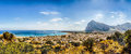 Panoramic View of San Vito Lo Capo, Sicily Royalty Free Stock Photo