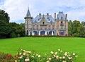Panoramic view of Schloss Schadau, Thun, Switzerland Royalty Free Stock Photo