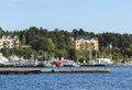 Panoramic view of Stockholm, Sweden Royalty Free Stock Photo