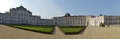 Panoramic view of Stupinigi castle, Turin, Italy Royalty Free Stock Photo
