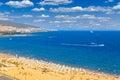 Panoramic view of Sunny Beach Royalty Free Stock Photo