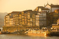 Panoramic view at sunset. Porto. Portugal Stock Images