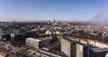 Panoramic view of tallinn city estonia Stock Images