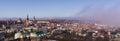 Panoramic view of tallinn city estonia Stock Image