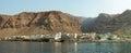 Panoramic view of tarrafal island sao nicolau cape verde cabo africa Royalty Free Stock Photo