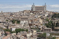 Panoramic view to Toledo Royalty Free Stock Photo