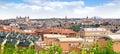 Panoramic view of Toledo Royalty Free Stock Photo
