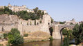 The panoramic view of Toledo in Spain Royalty Free Stock Photo