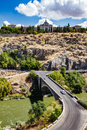 Panoramic view of Toledo Spain on a summer day Royalty Free Stock Photo