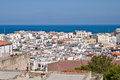 Panoramic view of Vieste. Puglia. Italy. Royalty Free Stock Photography