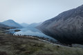 Panoramic View Of Wast Water L...