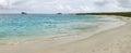 Panoramic View Of White Sand B...