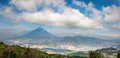 Panoramic Vista Of The Volcani...