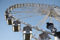 Panoramic wheel in Paris Stock Photography