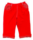 Pant s child s shorts pant s on a background Royalty Free Stock Photography
