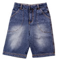 Pant s child s shorts pant s on a background Stock Images