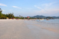 Pantai tengah beach in langkawi malaysia Royalty Free Stock Images