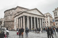 Panteon in Rome Royalty Free Stock Photo