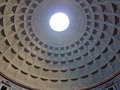 Pantheon Dome Royalty Free Stock Photo