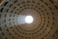 Pantheon Dome with Sunlight Royalty Free Stock Photo