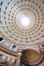 Pantheon Interior Royalty Free Stock Photo