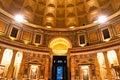 Pantheonen, Rome, Italien. 免版税库存图片