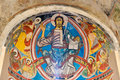 Pantocrator in Sant Climent de Taull Stock Photos