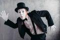 Pantomime Theater Artist Posin...