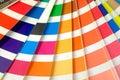 Pantone book color Royalty Free Stock Photo