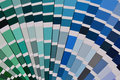 Pantone color sampler Royalty Free Stock Photo