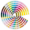 Pantone colors illustration of for print Royalty Free Stock Photo