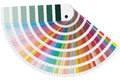 Pantone colors illustration of for print Stock Images