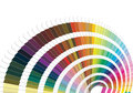Pantone colors illustration of for print Stock Photos