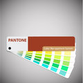 Pantone you can type text vector eps catalog Stock Images