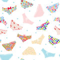Pants seamless funny pattern cute design Stock Photography
