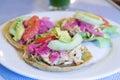 Panuchos, Yucatan food Royalty Free Stock Photo