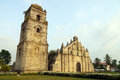 Paoay church philippines famous landmark of in Stock Photography