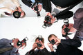 Paparazzi Royalty Free Stock Photo