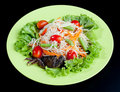 Papaya salad Thai style Royalty Free Stock Photos