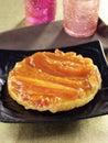 Papaya tatin tarlet Royalty Free Stock Photo