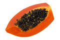 Papaya in white isolate background Stock Image
