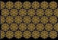 Papel de parede do teste padrão do floco de neve Imagem de Stock