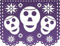 Papel Picado Stock Images