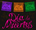 Papel picado and lettering