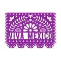 Papel Picado, Mexican paper decorations for party. Paper garland.