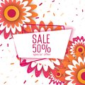 Spring sale paper cut  flowers for your design