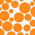 Paper background with round holes abstract of orange circles of different sizes Royalty Free Stock Photography